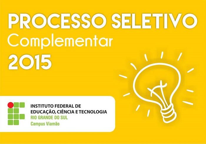 IFRS abre inscrições para cursos técnicos em Viamão