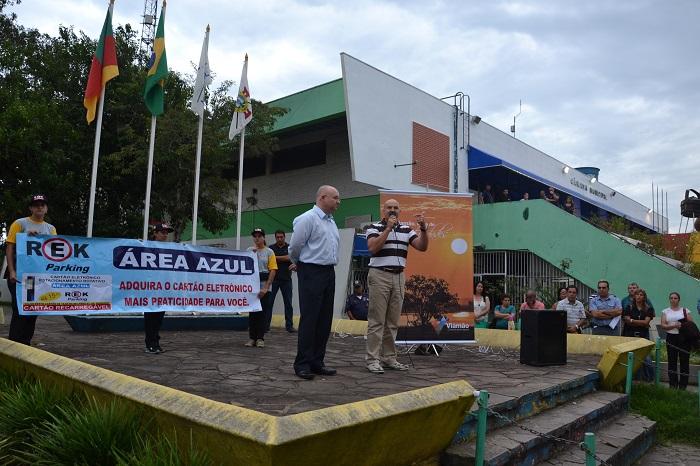 Prefeitura de Viamão lança oficialmente a Área Azul