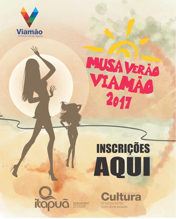Inscrições para o Concurso Musa Verão Viamão iniciam segunda-feira (16)