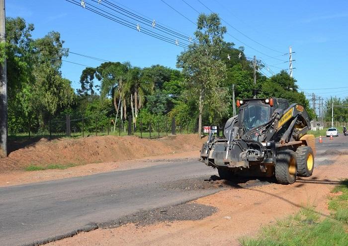 Ruas de Viamão continuam recebendo a Operação Tapa-Buraco